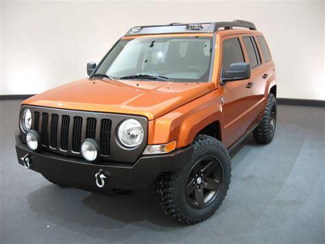 Jeep Patriot Upgrades 2006 Sema Show Jeep Patriot