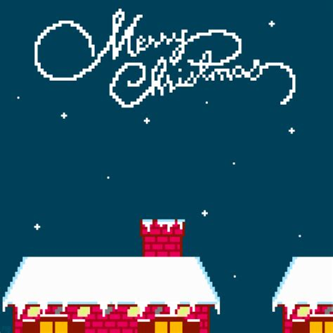 merry happy holidays pixel gif gif s wonderful gif s merry