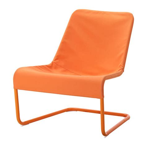 ikea orange armchair locksta easy chair orange ikea