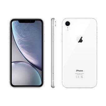 1 iphone 10r apple iphone xr 128 go 6 1 quot blanc smartphone achat prix fnac