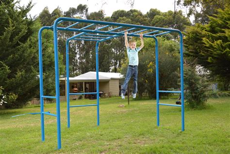 Monkey Bars For Backyard by Monkey Bars Playground Equipment From Cubbykraft