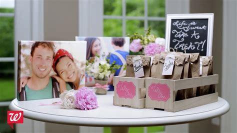 DIY Bridal Shower Ideas   Walgreens   YouTube