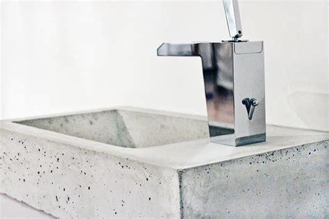 waschbecken aus beton kleines waschbecken gq beton