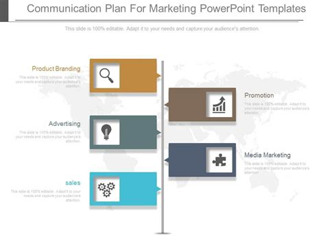 communication plan ppt template communication plan for marketing powerpoint templates