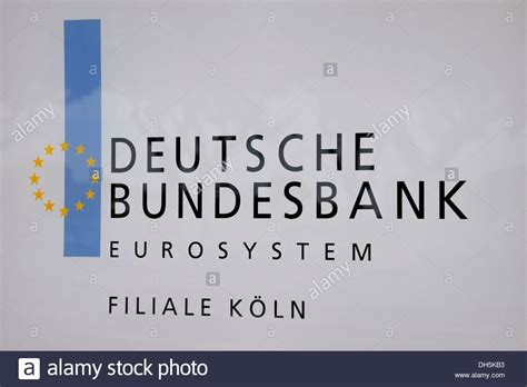 deutsche bundes bank company name plate deutsche bundesbank german federal