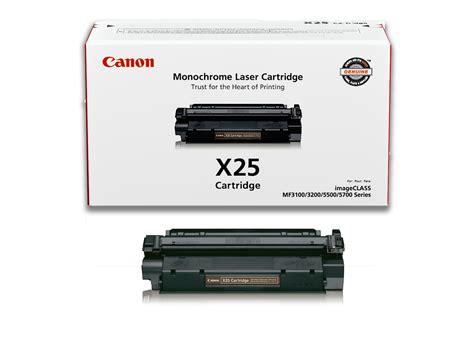 Toner Canon canon original x25 toner cartridge black