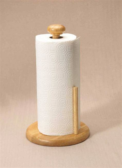 Paper Towel Holder Crafts - wooden upright paper towel holder napkin holder w sp