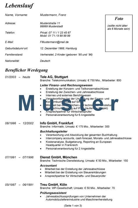 Lebenslauf Deutschland Muster Acquisition Consulting Services Volker Meessen