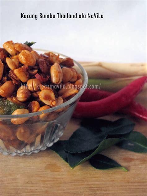 Kacang Thailand kreasi navila kacang bumbu thailand ala navila
