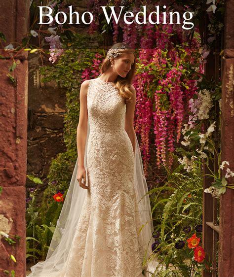 Wedding Style by Bohemian Wedding Dresses Boho Style Wedding