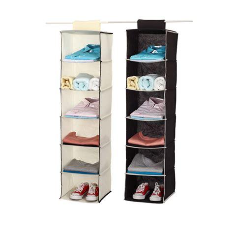 Hanging Wardrobe Storage by New Non Woven Hanging Closet Organizer Shoe Organizer
