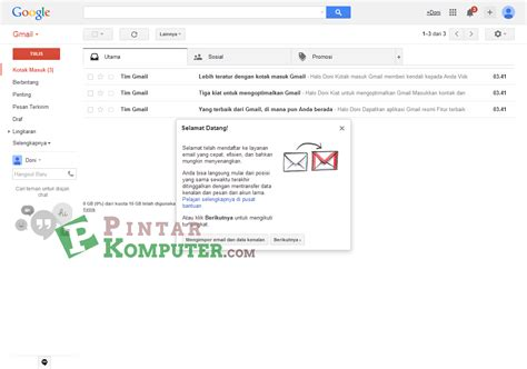 membuat banyak email gmail cara membuat daftar email baru di gmail pintar komputer