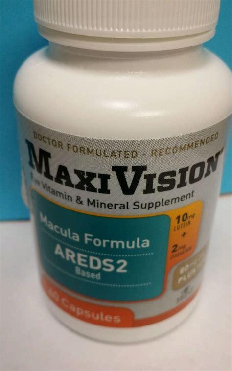 Wellness 2 A Day Multi Vitamin Mineral Formula 120 Tablets maxivision macular formula macular degenaration vitamins areds 2 minerals ebay