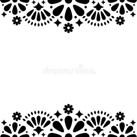 Wedding Card Designs Black And White by Mexican Folk Wedding Or Invitation Floral Happy