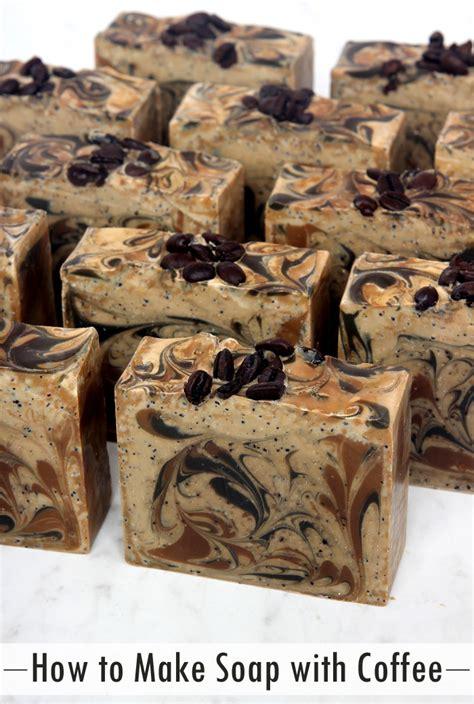 Detox Coffee Spa Soafty Soap by How To Make Coffee Soap Teach Soap