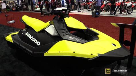 yellow sea doo boat 2017 sea doo spark jet ski walkaround 2016 aimexpo