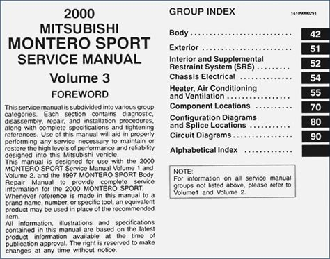 download car manuals 2001 mitsubishi montero sport engine control service manual 2000 mitsubishi montero sport brake fuse manual 2000 mitsubishi montero sport