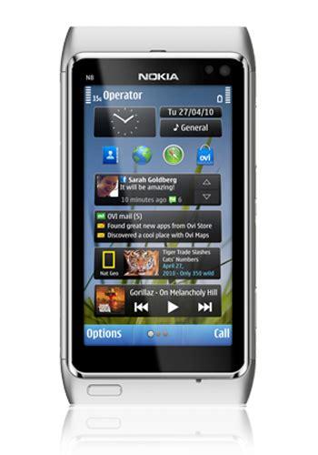 mobile n8 nokia n8 n8 00 freie ware in silver white mit vertrag oder