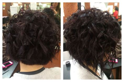 wands short hairstyles and curls on pinterest curls in short hair wand curls cosmetology school
