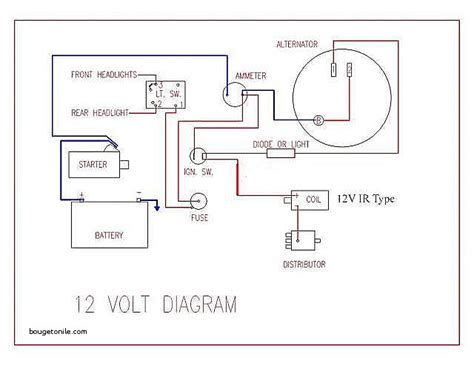 ford naa 12 volt diagram wiring diagram with description