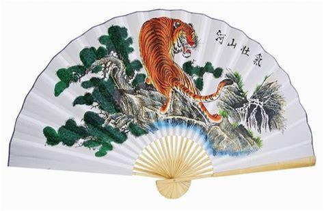 oriental fan wall hanging 1 oriental 60 quot feng shui asian tiger chinese wall