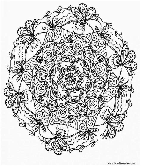 Awesome Coloring Pages For Adults Bing Images The Awesome Mandala Coloring Pages