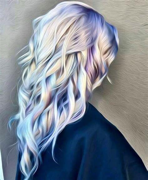 silver blue hair on pinterest lemon hair highlights platinum blonde hair with blue purple hair we go again