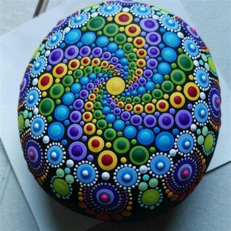 pintar mandalas en piedras manualidades 1000 ideas about stone painting on pinterest hand