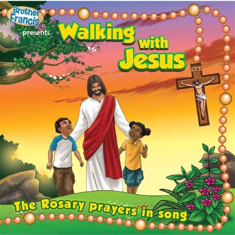 walking the song walking with jesus the rosary prayers in song the catholic company
