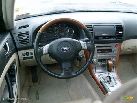2006 subaru outback interior taupe interior 2006 subaru outback 3 0 r l l bean edition