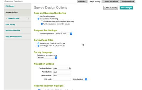 Survey Monkey - survey monkey results ficeo