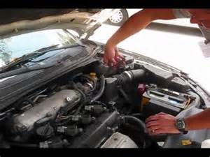 P0507 Nissan Altima 2002 Nissan Altima Misfire Start P0507 Bad Idle Part1