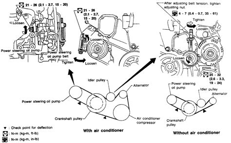 1997 nissan engine diagram i need a diagram for 1997 nissan maxima serpentine belt