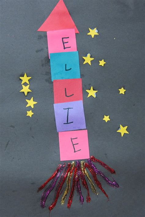 name crafts for mrs s preschool ideas let s fly to the moon or