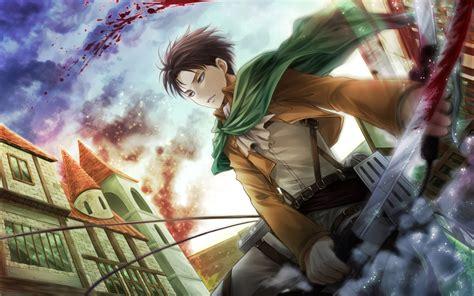 wallpaper anime hd attack on titan levi attack on titan 6j wallpaper hd