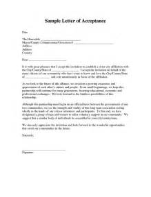 Business Agreement Acceptance Letter 17 Images About Acceptance Letters On Pinterest To Be