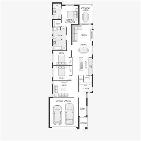 wide lot floor plans wide lot floor plans best free home design idea