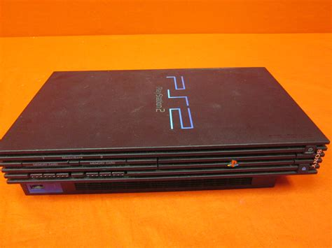 console playstation 2 sony playstation 2 console ps2 black broken 8231