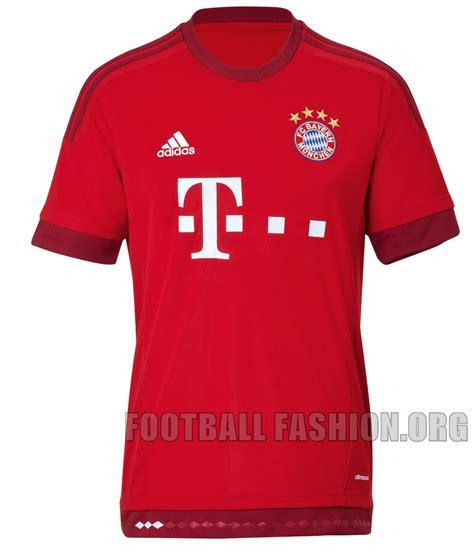 Bayern Munchen Home 2015 2016 fc bayern munchen munich 2015 2016 adidas home kit 5 football fashion org