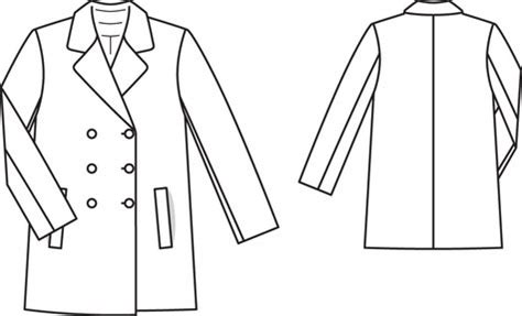 coat template s peacoat 08 2013 143 sewing patterns burdastyle