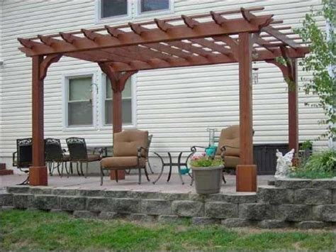 Types Of Patio by Types Of Pergola