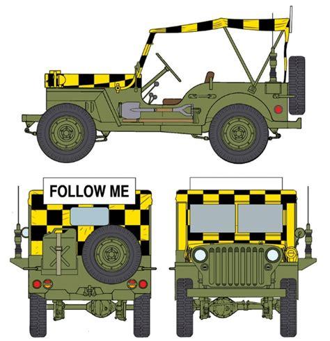 Jeep Model Codes Jeep Quot Follow Me Quot Model Set Italeri 70390