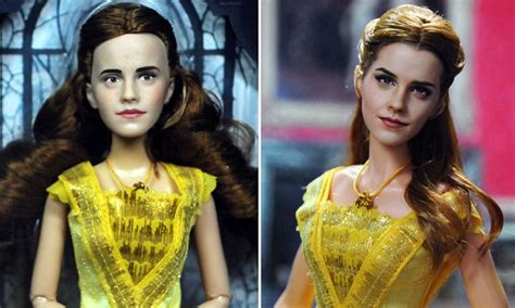 artist transforms and the beast doll daily mail