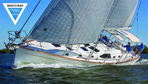 sailing boat of the year cruising world announces 2016 boat of the year winners