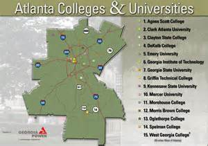 colleges in map colleges and universities colleges and universities ga