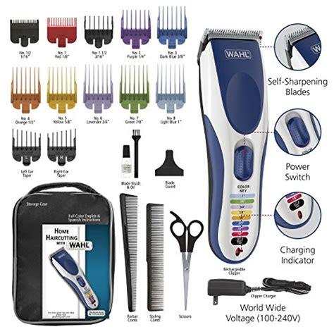 wahl color pro wahl color pro cordless rechargeable hair clipper 21