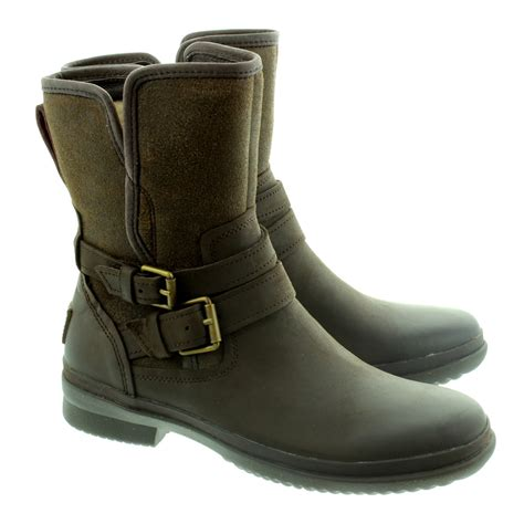 waterproof boots ugg simmens waterproof boots in stout in stout brown