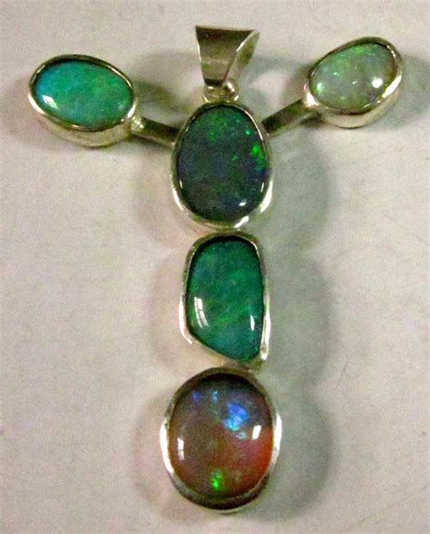 Handmade Gemstone Jewellery Australia - opals from official government heritage site in australia