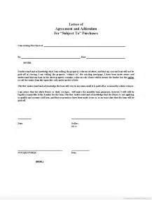 Letter Of Agreement Template Free Letter Of Agreement Form Free Printable Documents