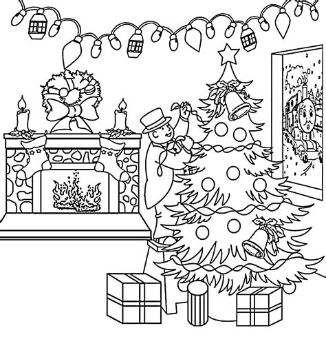 coloring pages christmas train christmas coloring pages for adults to print free